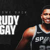 SPURS RE-SIGN RUDY GAY