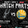 SAN ANTONIO SPURS TO HOST GAME 5 WATCH PARTY PRESENTED BY BUDWEISER ON TUESDAY, APRIL 24