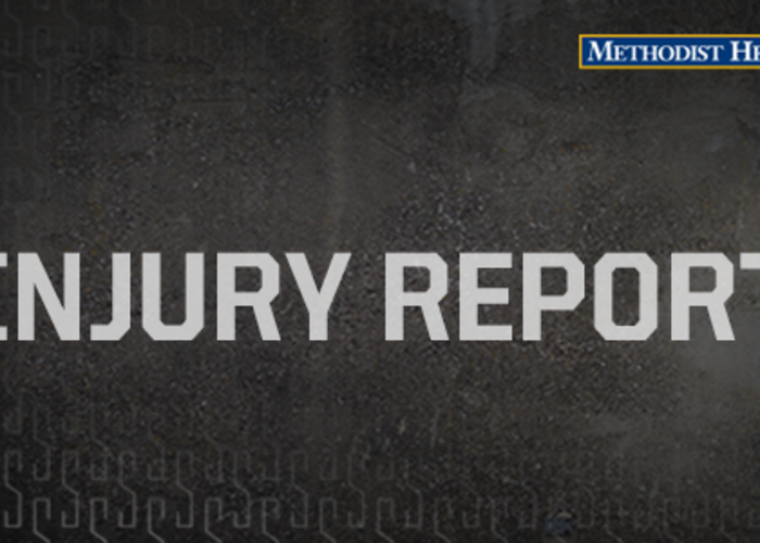 SPURS INJURY REPORT – 10/30/17