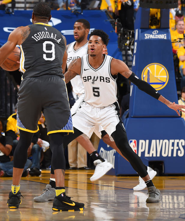 Dejounte Murray NBA All-Defensive Second Team
