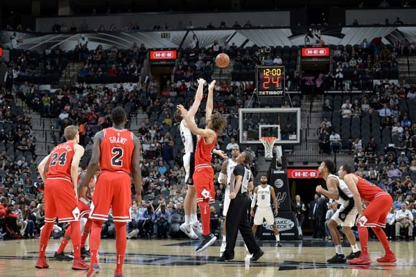 Photos - Spurs vs Bulls 11/11