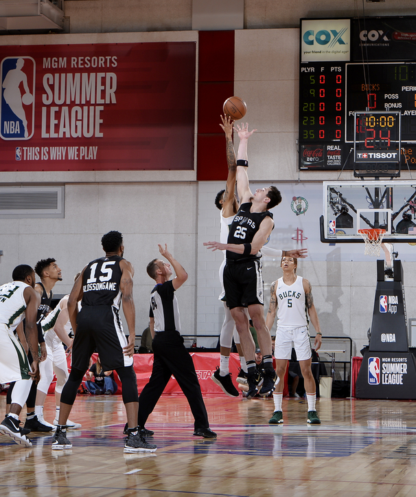 Summer League 2018: Spurs vs Bucks 7/12
