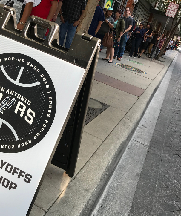 Photos - Spurs Playoffs Pop-Up Shop Grand Opening