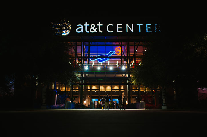 on sale fe958 7c60c All-New AT&T Center Set For San Antonio Spurs Home Opener on ...