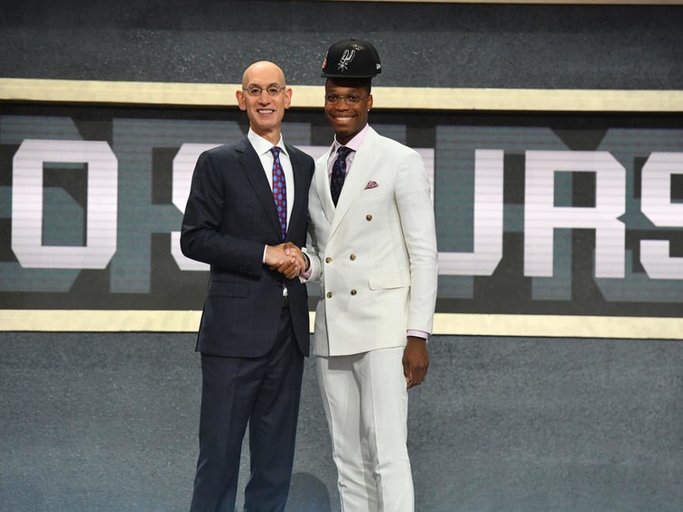 dcf4caca5 SPURS SELECT LONNIE WALKER IV AND CHIMEZIE METU IN 2018 NBA DRAFT ...