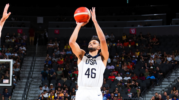 Derrick White Named 1 of 17 Finalists Announced for USA Men's World