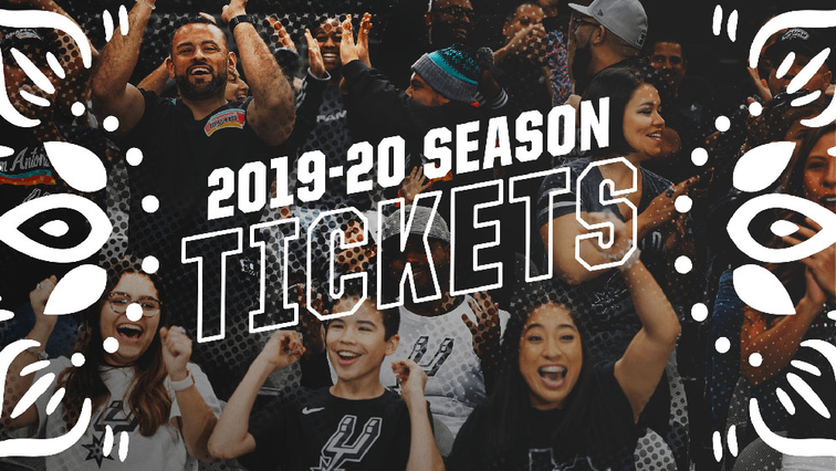 San Antonio Spurs Season Tickets Now Available For 2019 20
