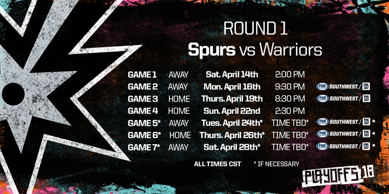 SAN ANTONIO SPURS ANNOUNCE BROADCAST SCHEDULE FOR FIRST ...