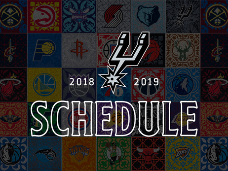 SAN ANTONIO SPURS ANNOUNCE 2018-19 SEASON SCHEDULE