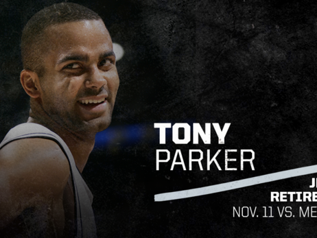 SPURS TO RETIRE TONY PARKER'S NO. 9