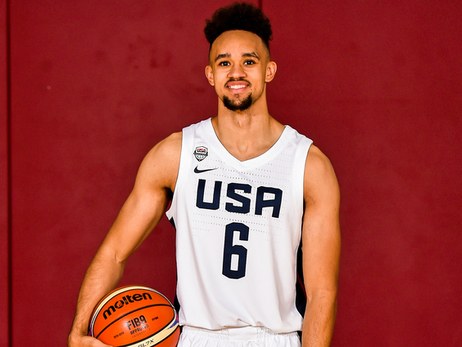 DERRICK WHITE NAMED TO USA BASKETBALL SELECT TEAM