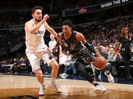 Photos - Spurs at Wizards 3/27
