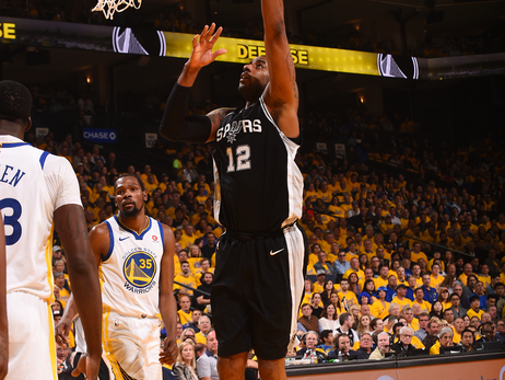 Photos - Spurs at Warriors (Rd 1 Game 5) 4/24