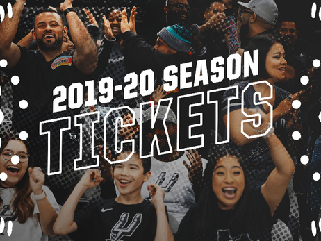 San Antonio Spurs Season Tickets Now Available for 2019-20 Season