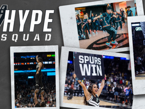 SPURS HYPE SQUAD AUDITIONS SET FOR JULY 14 & JULY 27