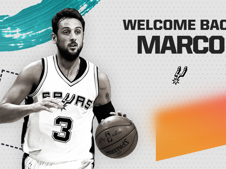 SPURS SIGN MARCO BELINELLI