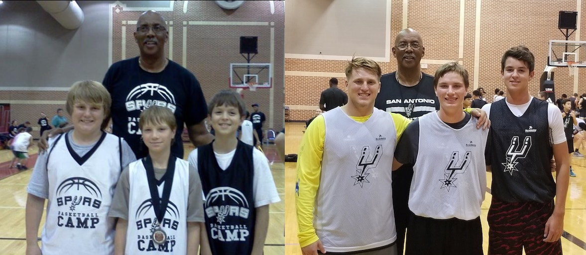 Growing Up In Spurs Camps