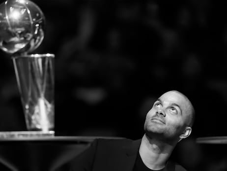 Photos from Tony Parker's Retirement Ceremony