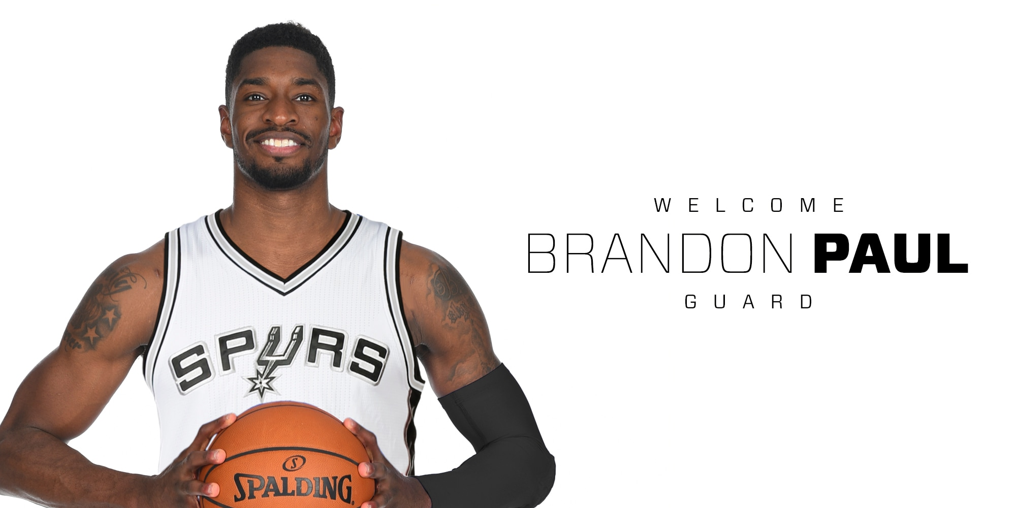 SPURS SIGN BRANDON PAUL