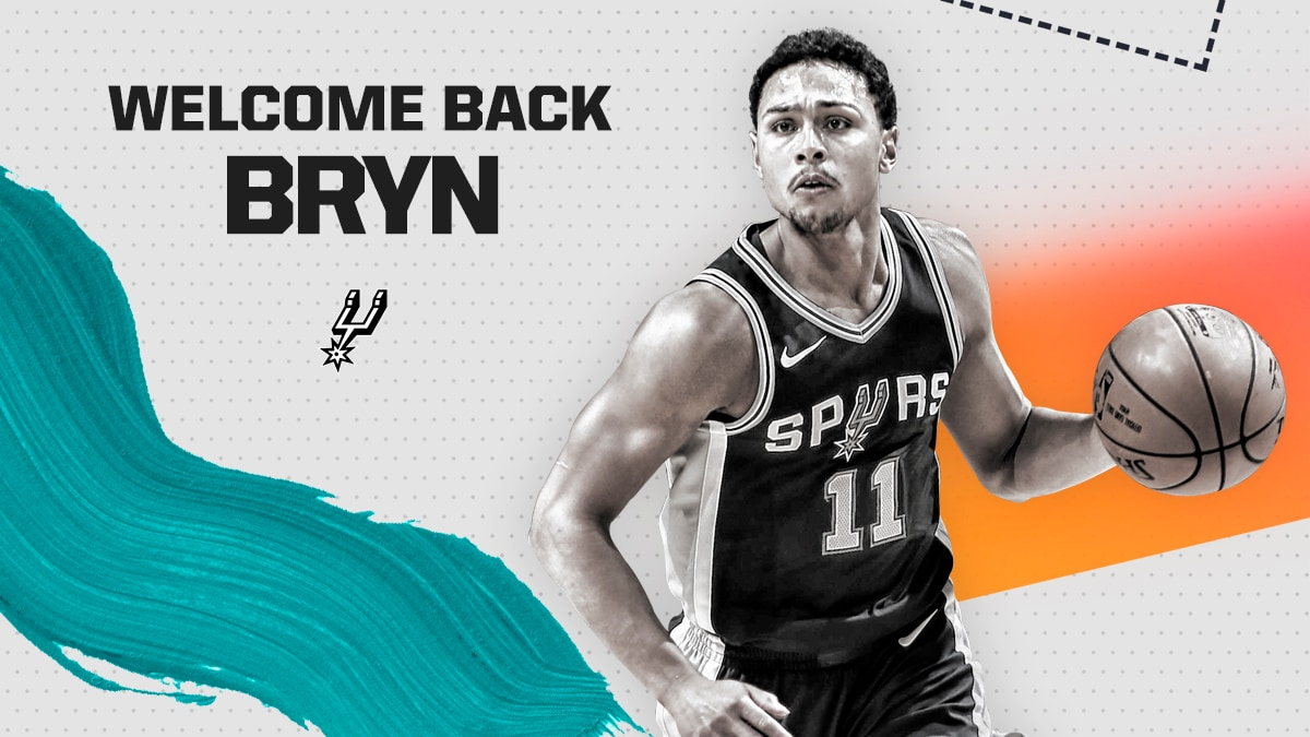 SPURS RE-SIGN BRYN FORBES