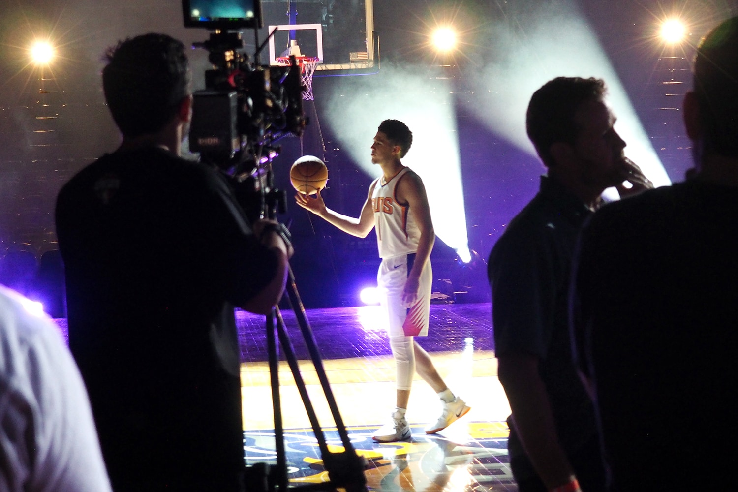 Behind the Scenes: 2017-18 Phoenix Suns Intro Video