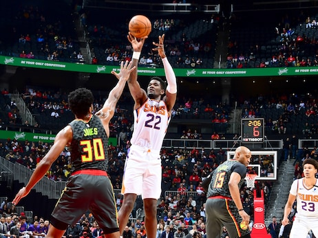 January 14, 2020: Suns at Hawks