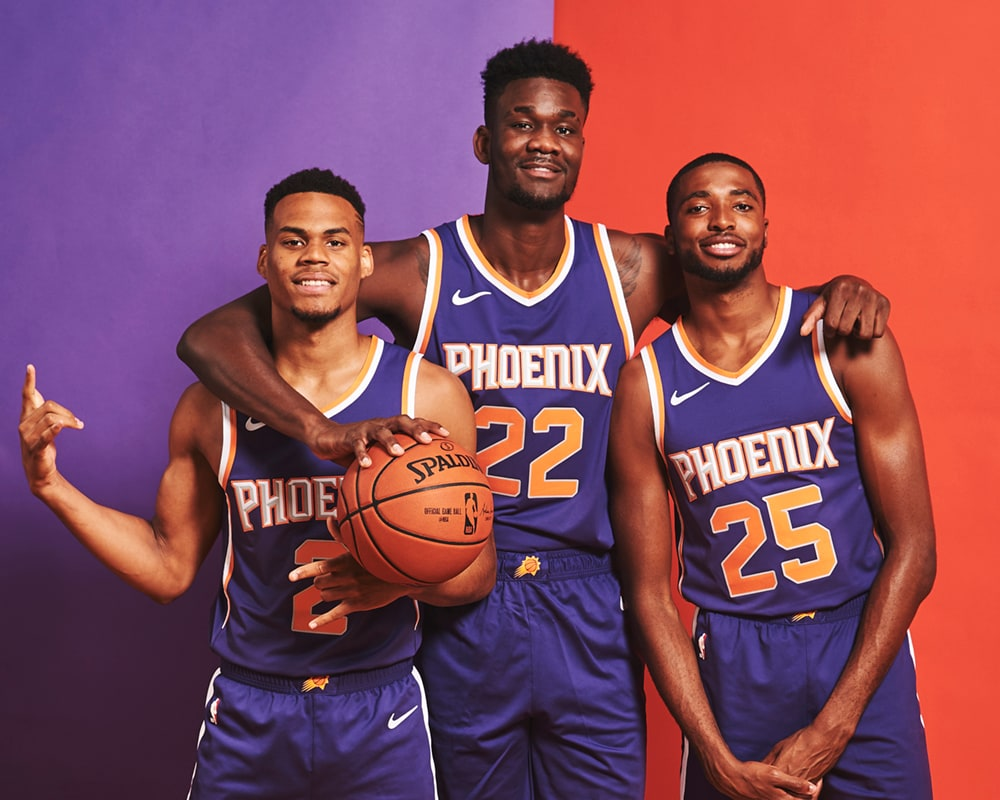 36193ddbc55c 2018-19 NBA Rookie Photo Shoot