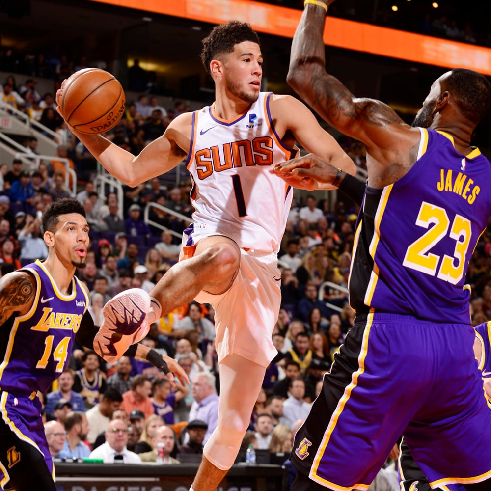 2019 20 Suns Snapshot Suns At Lakers Phoenix Suns