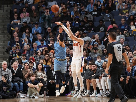 January 26, 2020: Suns at Grizzlies