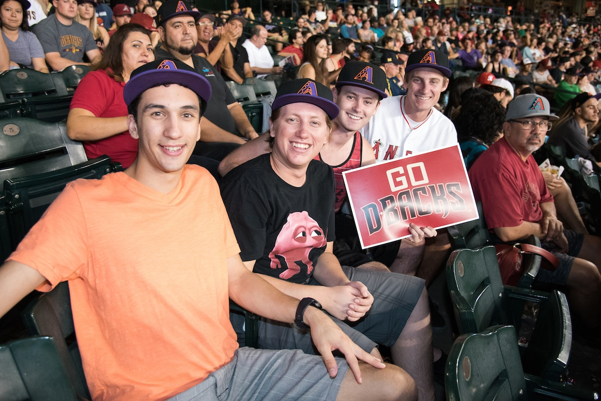 Suns Night at the D-Backs: Suns and D-Backs fans
