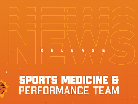 Phoenix Suns Announce Sports Medicine and Performance Team