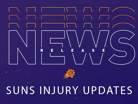 Suns Injury Updates