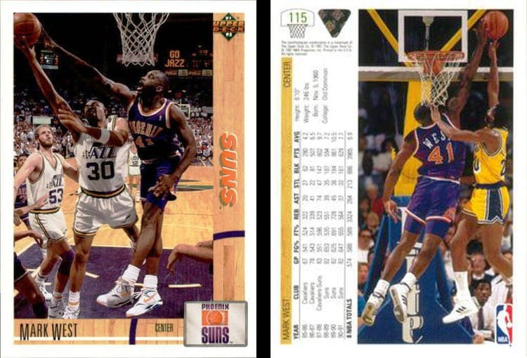276130d5ecf 1991-92  Upper Deck Muscles In After purchasing NBA licensing in 1990
