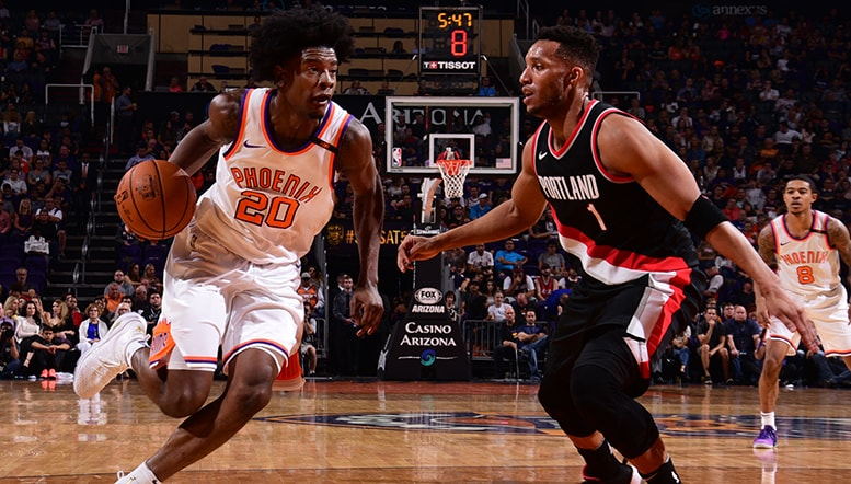 Jackson Receives First Career Start in Suns Home Opener