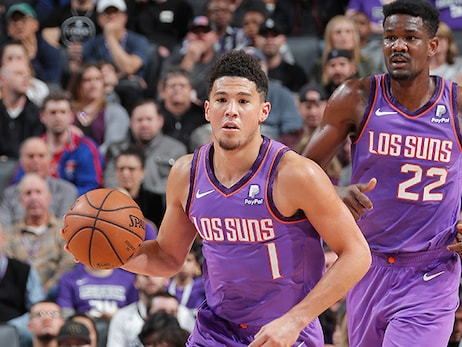 Devin Booker Scores 32 Points in Hard-Fought Battle with Kings