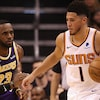 Suns Fall in Final Minutes in Back-and-Forth Battle with Lakers