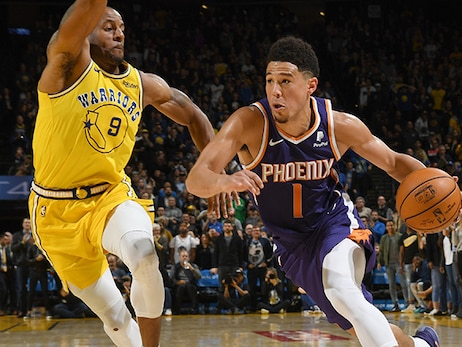 Bookers Scores 37 Points in Suns Comeback Win Over Warriors
