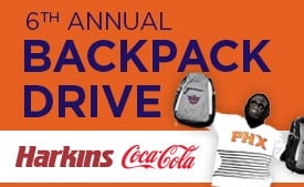 Suns Backpack Drive