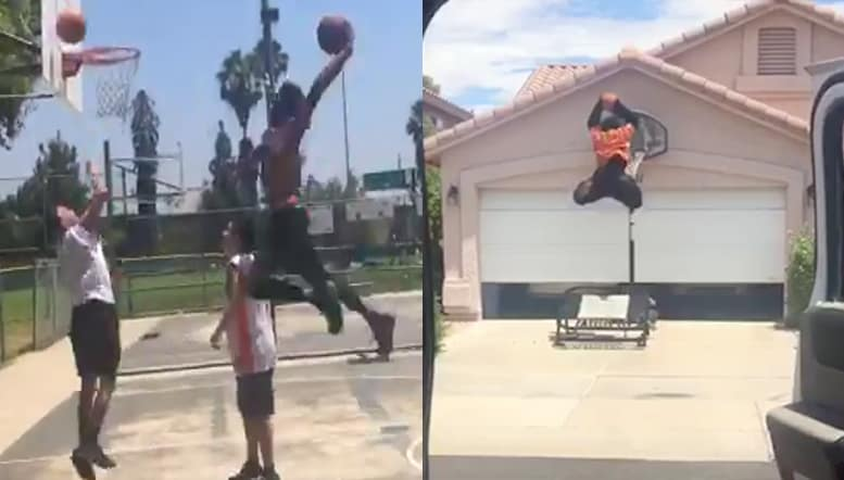 DriveByDunkChallenge: Who Did It Better
