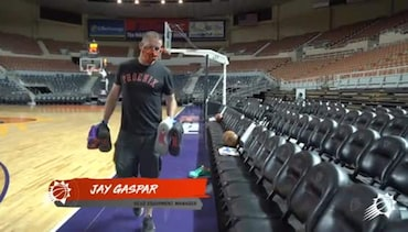 A Safe Return to Basketball: Manager of Equipment Operations Jay Gaspar
