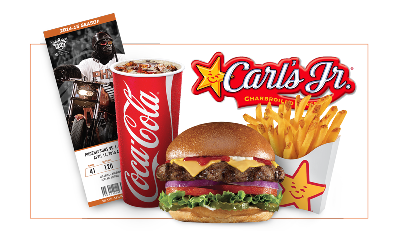 Carl's Jr Family Fun Pack