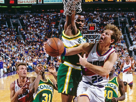 Suns Road to 1993 NBA Finals: WCF Tips-Off Against Sonics