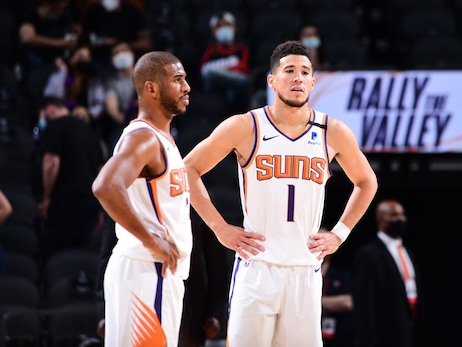 April 12, 2021: Suns vs Rockets