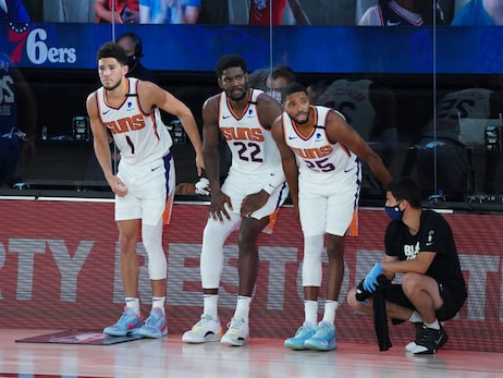 August 11, 2020: Suns vs Sixers