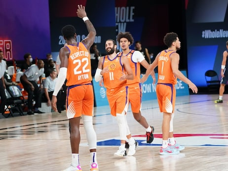 August 13, 2020: Suns vs Mavericks