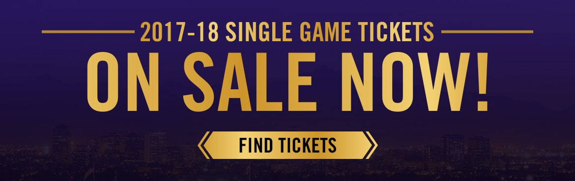 2017-18 Single Game Tickets On Sale Now!