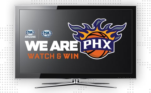 Watch & Win for your chance at a TV!