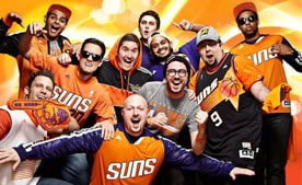 Club Orange | Earn and redeem points for Suns swag!