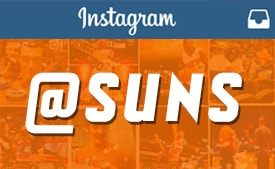 Suns Instagram | Follow us for behind the scenes pictures!