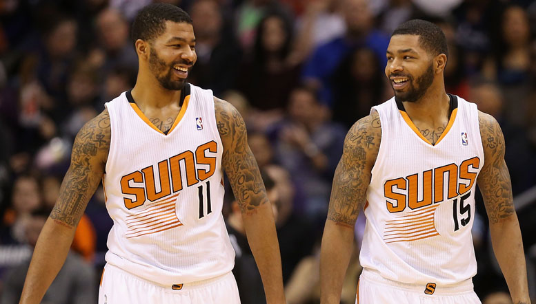 Suns Sign Marcus And Markieff Morris To Extensions Phoenix Suns